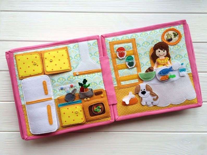 Fantastic custom quiet book quiet book for toddler baby