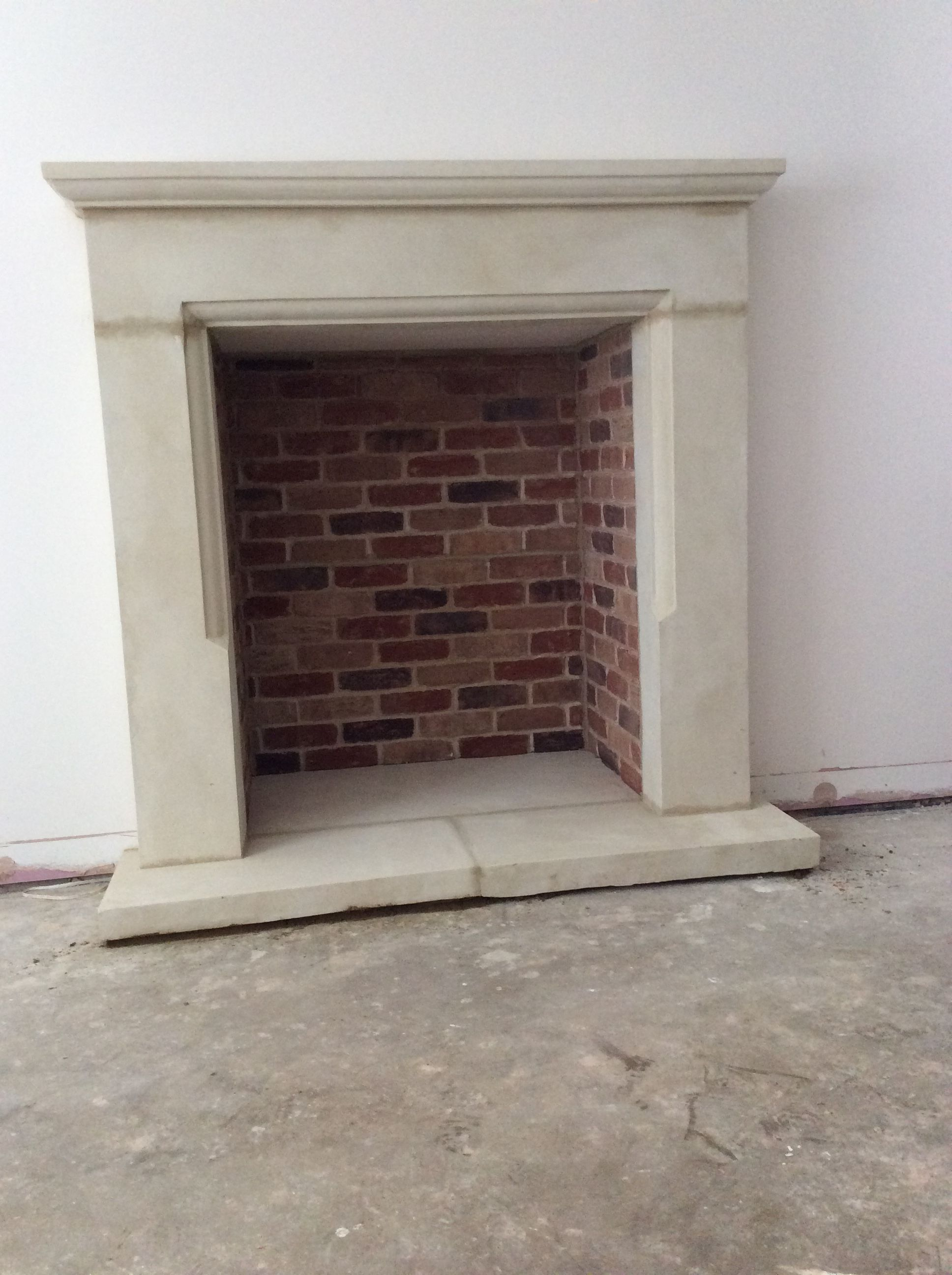 Bespoke Stone Fire Surround From Ashendon Stone And Brick Slip