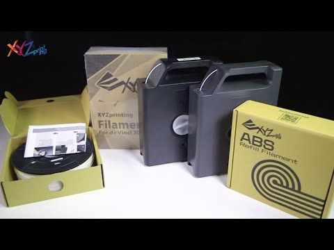 XYZprinting da Vinci_Filament Replacement Instructions - YouTube