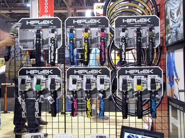 Interbike 2012 Hiplok Debuts Lighter Locks Replacement Sheaths