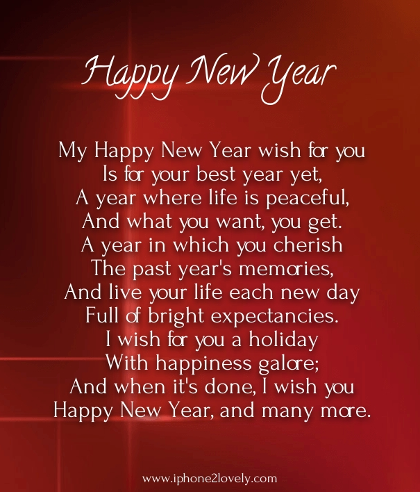 30 Romantic New Year 2020 Love Poems for Him / Boyfriend