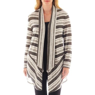 e64674896dc Alyx® Striped Open-Front Long Cardigan Sweater found at  JCPenney ...