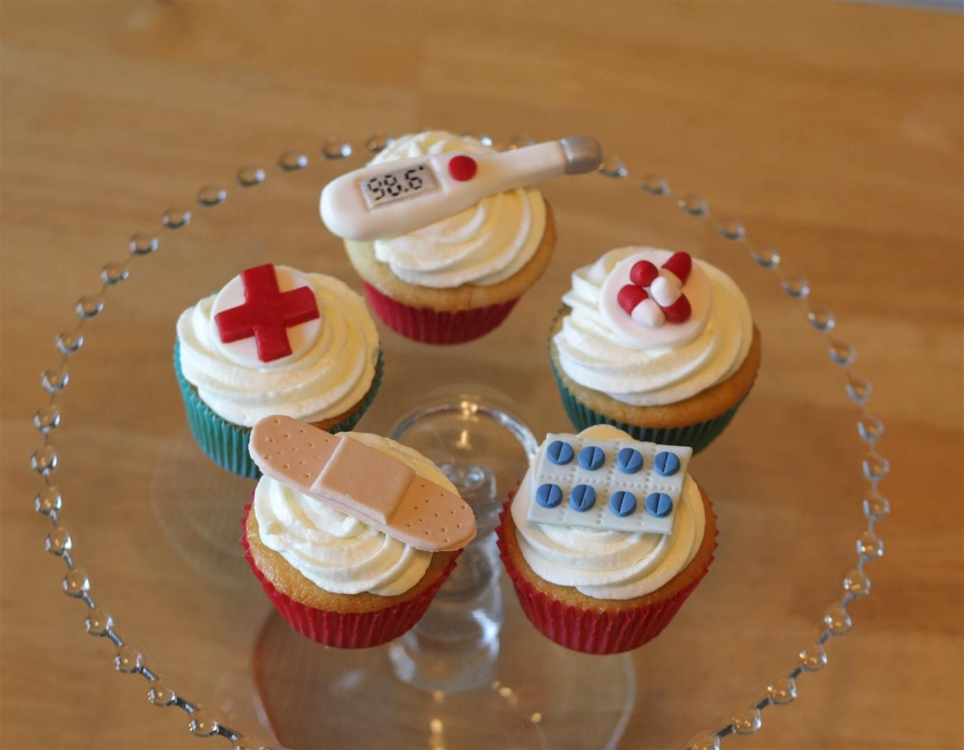 Medical Profession Cupcakes Patty Cakes Bakery Food Desserts