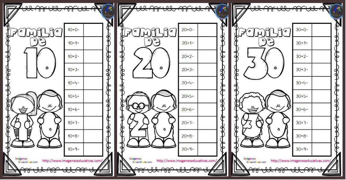 Cuaderno para trabajar la familia de los números