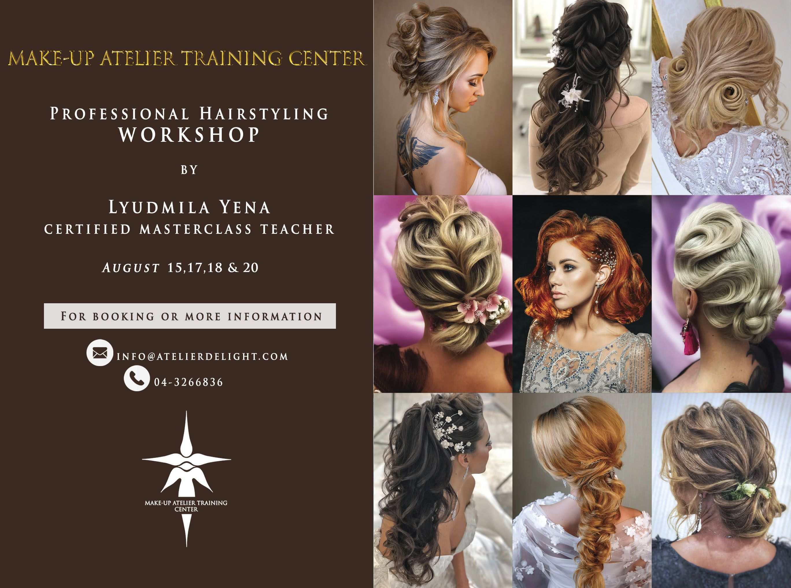Hairstyling Workshop Makeup Course Beauty Academy Hair Styles