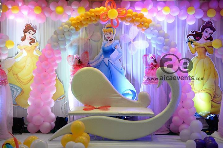 twinkle bell stage decorationBalloon DecorsPrincess Decors