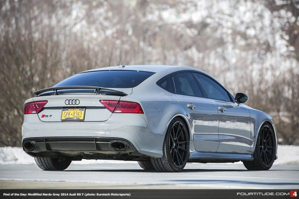 Find Of The Day Modified 2014 Audi Rs 7 From Eurotech Motorsports Fourtitude Com Audi Rs Audi Automobile