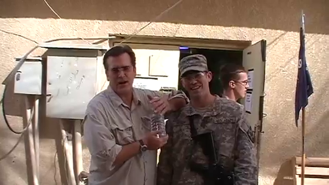 Bruce Campbell in Iraq (2009)
