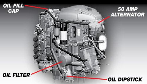 Mercury 115 EFI: Mercury has designed its 115-hp engine to