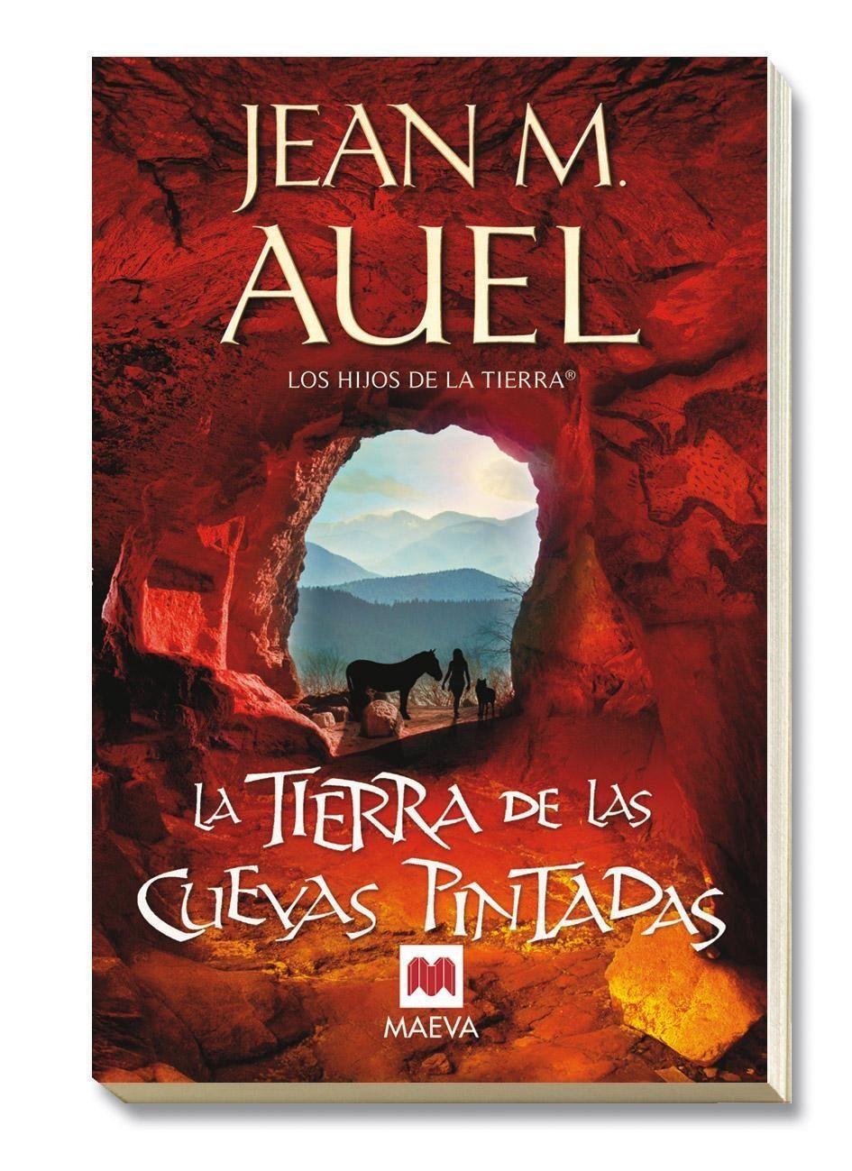 La tierra de las cuevas pintadas, de #Jean_M_Auel, de la saga, Hijos de tierra, mi última adquisición.
