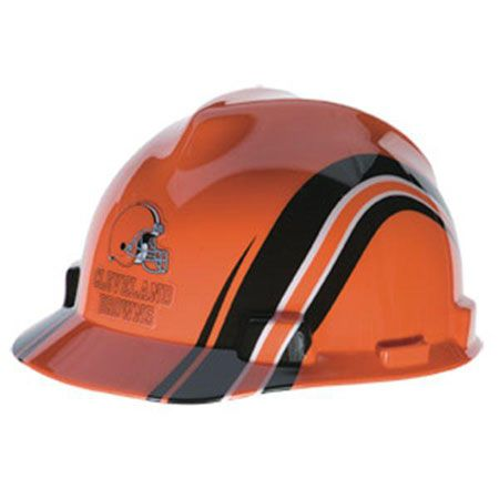 f897b9140 Cleveland Browns Hard Hat - NFL Football Construction Safety Helmet ...