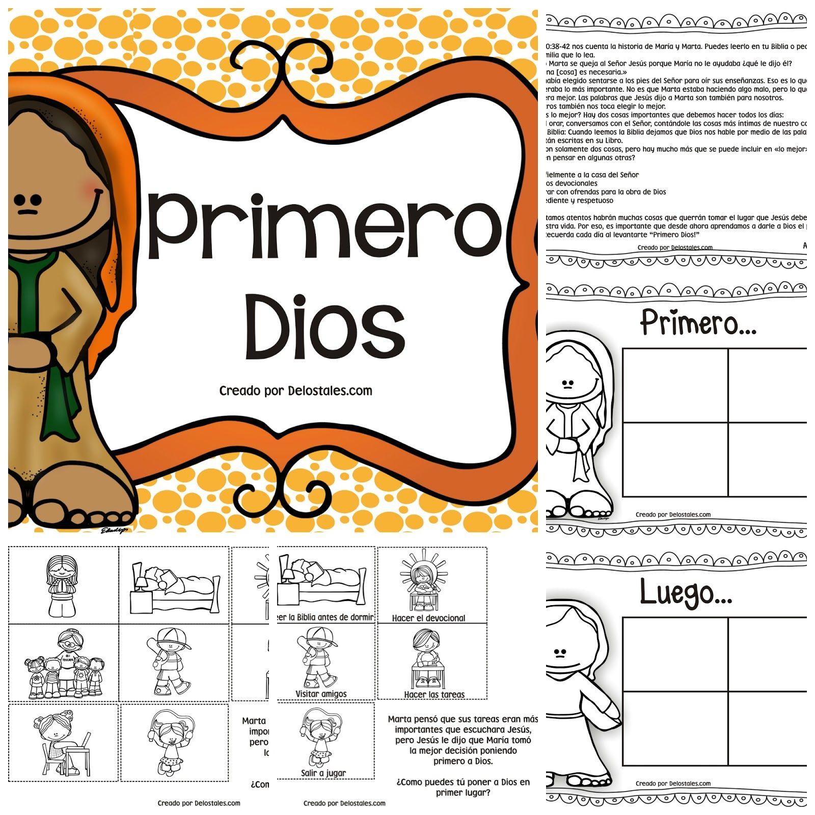 Semana 10 Primero Dios En 2020 Lecciones Biblicas Para Ninos