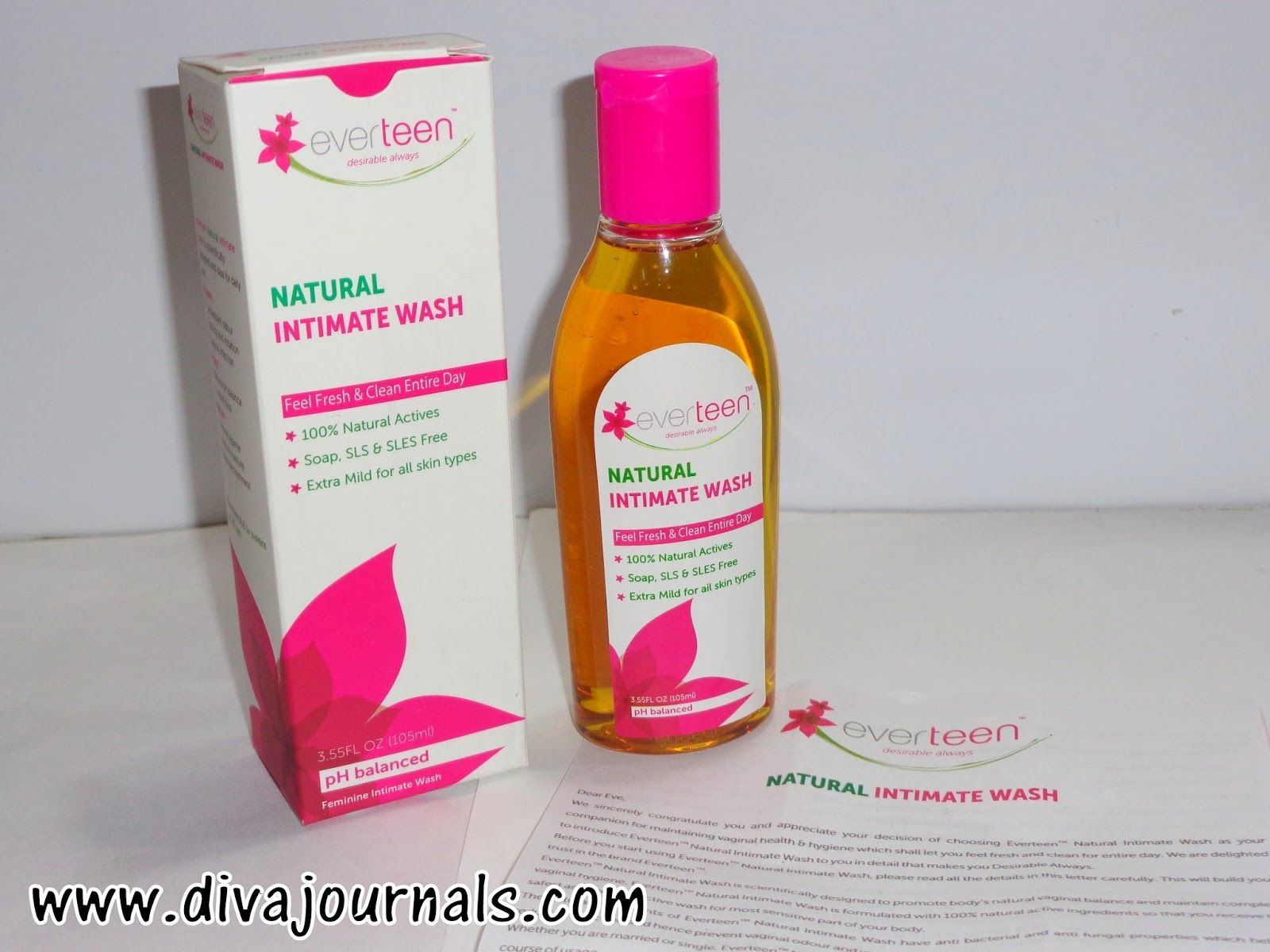 Everteen Natural Intimate Wash Review | NIW Blogger images ...