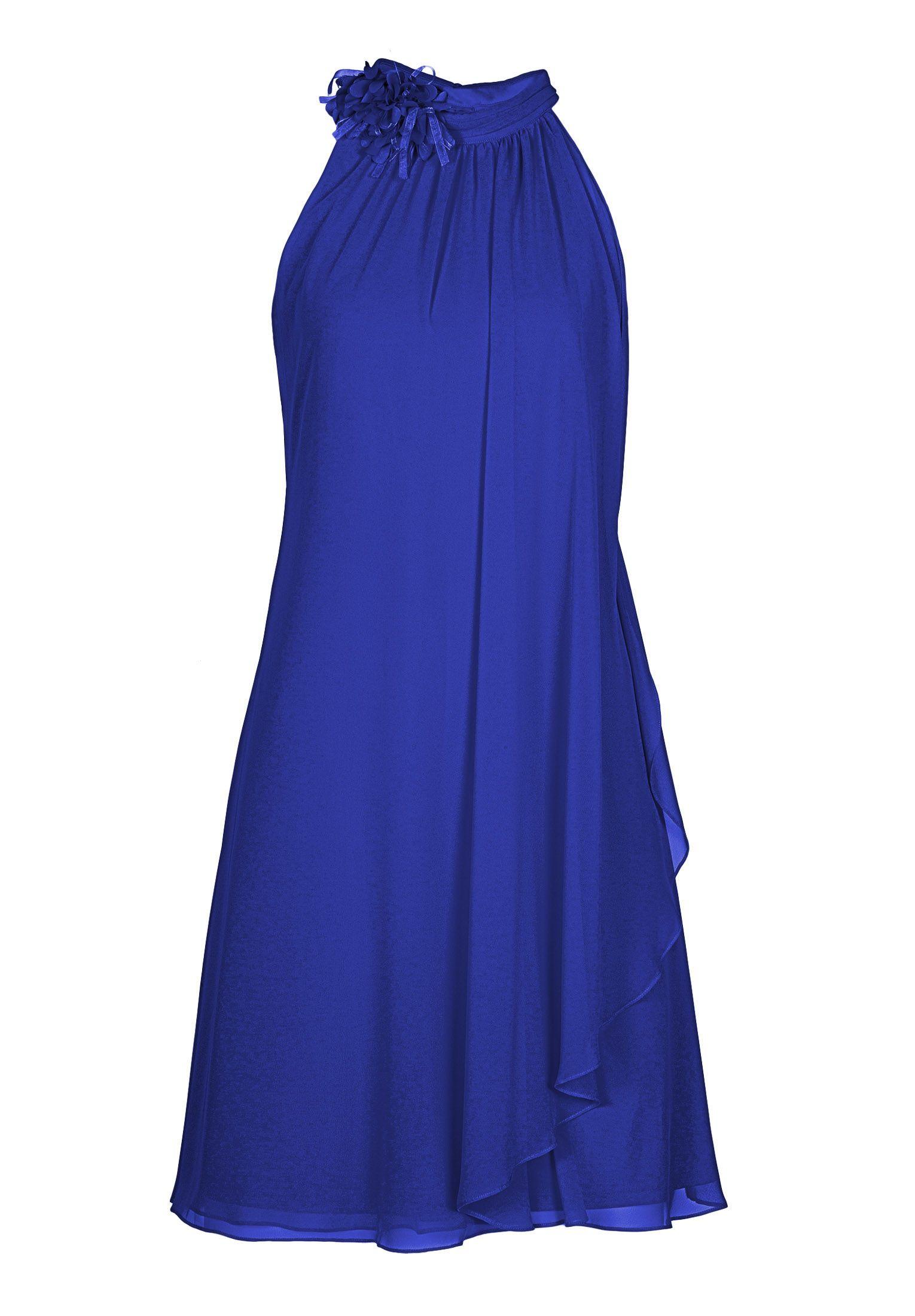 Kleid blau vera mont