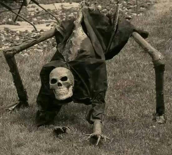 Creeeeepy More Skullz Pinterest - homemade halloween decoration ideas for yard