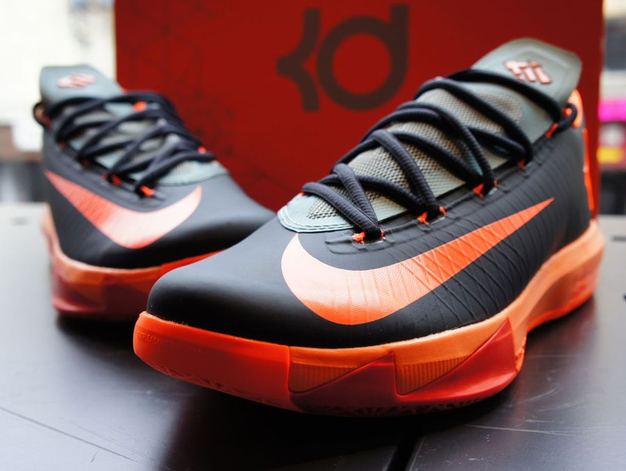Nike Zoom KD 6 Dark Blue Total Orange Green