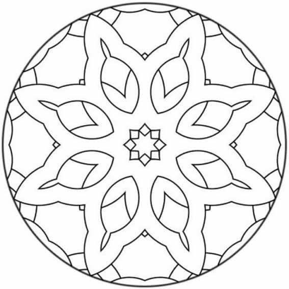 Imágenes de mandalas para imprimir | Imagenes de mandalas, Mandalas ...