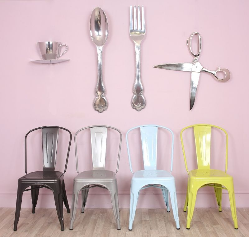 Extra Large Aluminium Spoon And Fork Wall Decor Kitchen Decor