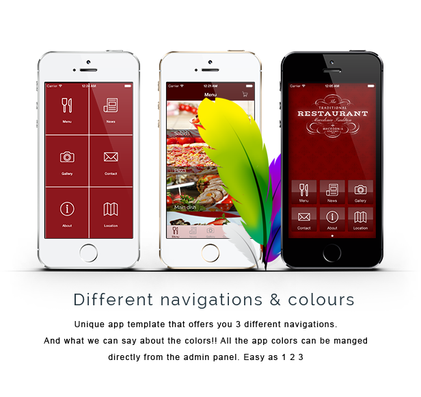 About Restaurant app is a Titanium Mobile application developed for ...