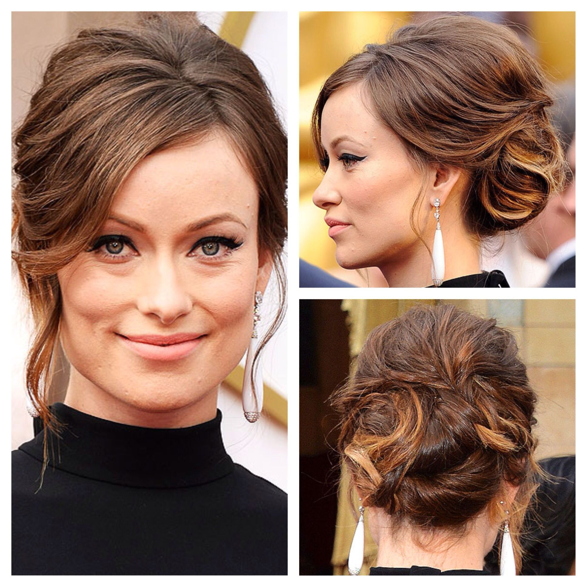 Hairstyle For Wedding Front View: Image Result For Olivia Wilde Updo