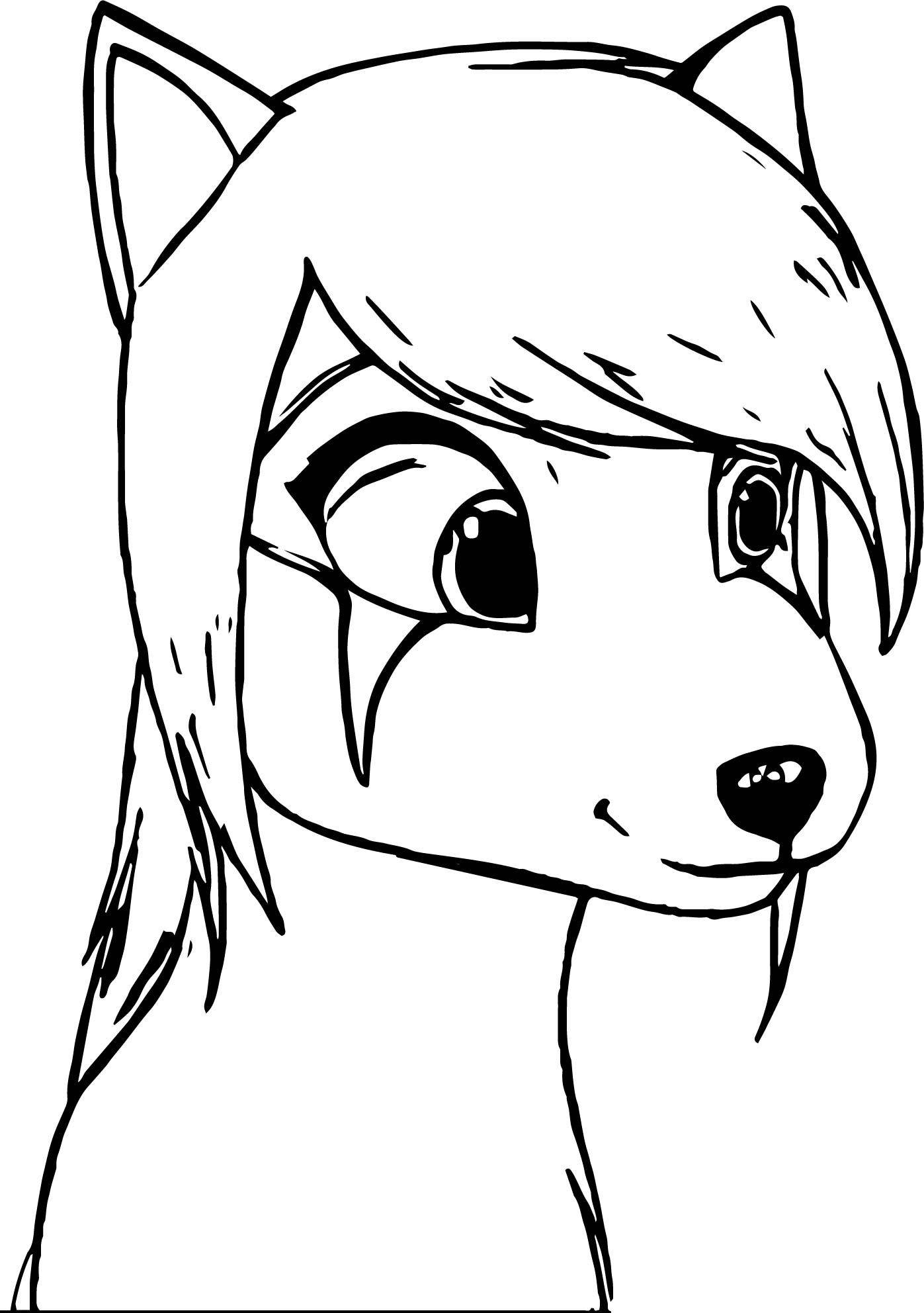 cool Alpha And Omega Oc Ellie Coloring Page | wecoloringpage | Pinterest