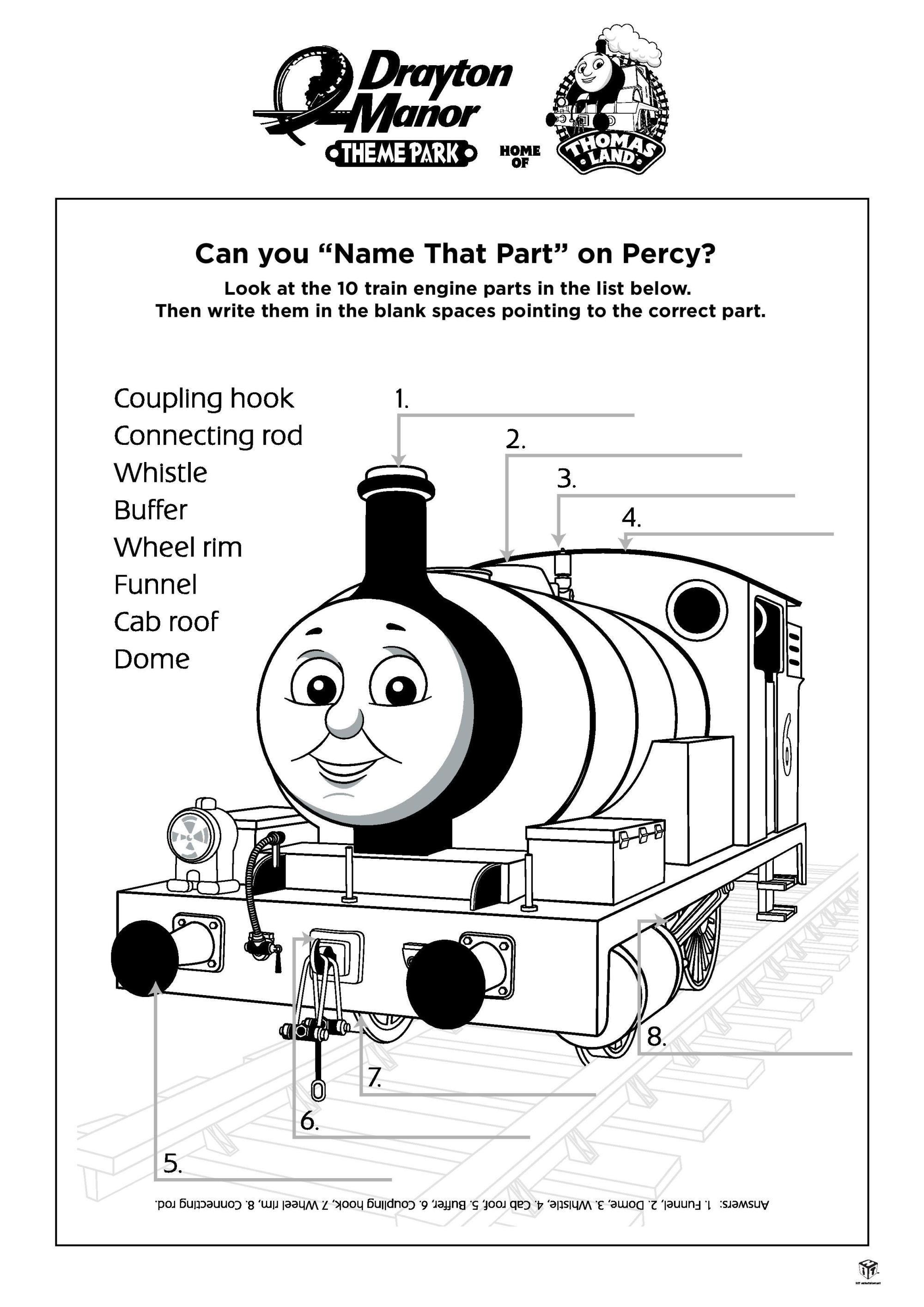 Thomas Amp Friends Activity Sheet Printables