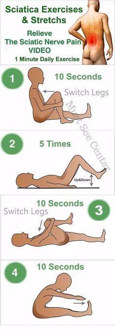 sciatica stretches | syatic nerve | Pinterest | Sciatica stretches ...