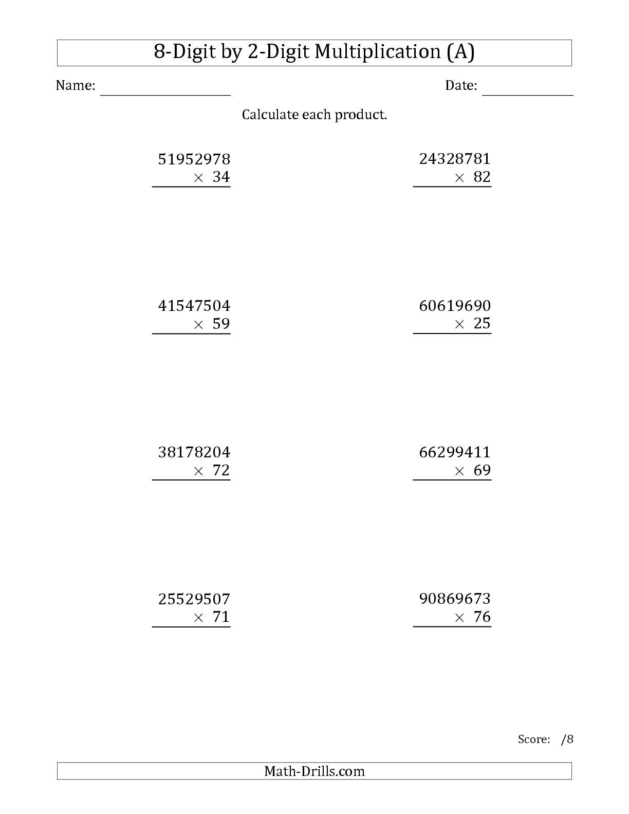 Solving Two Step Equations Worksheet Math Drills
