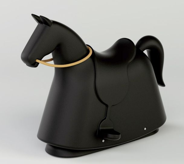 Rocky, A New Modern Rocking Horse for Kids by Marc Newson For Magis Me Too. | Moma !