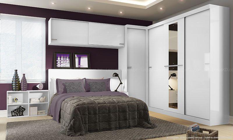 60d899164d gallery of quarto casal modulado completo allegro branco carraro with jogo  de quarto de casal