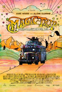 Magic Trip , highly recommended despite bad reviews. Best part is one of the special features: unedited audio of Ken Kesey answering a nurse's questions during his first LSD trip in 1959, as part of CIA-sponsored experiment in a veterans hospital in Menlo Park, CA.