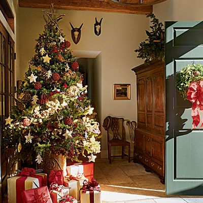 Real Christmas Trees Archives Trendy Tree Blog Country Christmas Decorations Country Christmas Trees Christmas Decorations