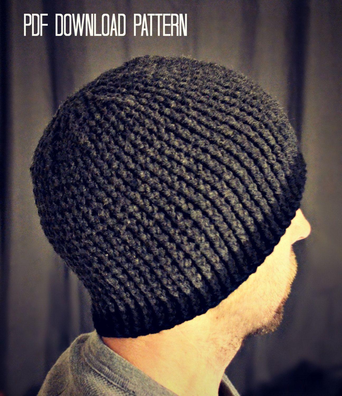 CROCHET PATTERN-Gavin Guy Beanie Crochet hat pattern beanie pattern ...