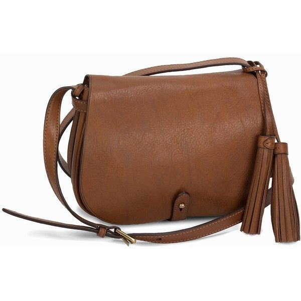 15aa80712bb0 Polo Ralph Lauren Saddle Bag ( 460) ❤ liked on Polyvore featuring bags