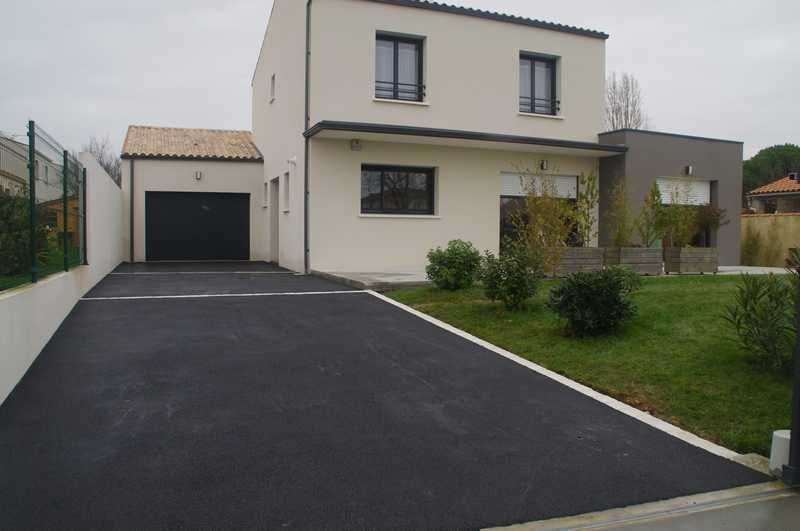 Lu0027allée du garage juste finie Allee de garage Pinterest House