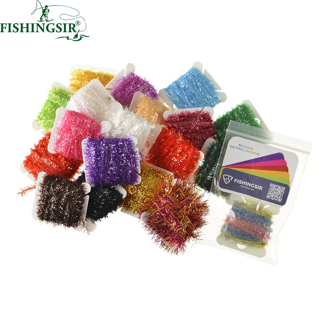 12PCS/lot Fly Fishing Ice Chenille Fly Tying Streamer Flies ...