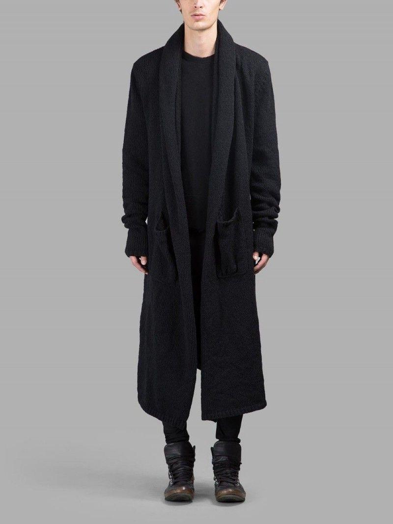 Men's Cardigans Go Long: 5 Long Cardigans for Fall | Men's fashion