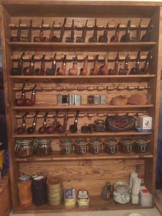 Pallet Pipe Rack Wood Projects Pijp Roken Pijpen En Sigaren