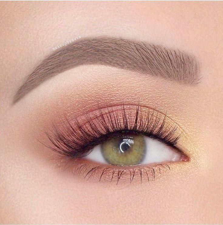 Photo of Eye Makeup Brushes Brown Smokey Eye Natural Makeup  #Smokey, #eyemakeupsmokey