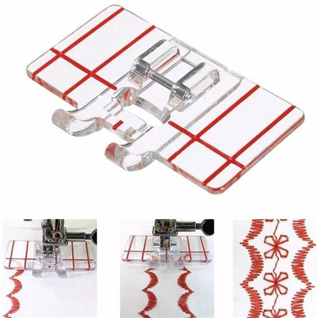 Adjustable Binder Presser Foot Attaching Binding Snap-On