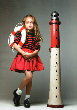 anchors away with this cute kids look