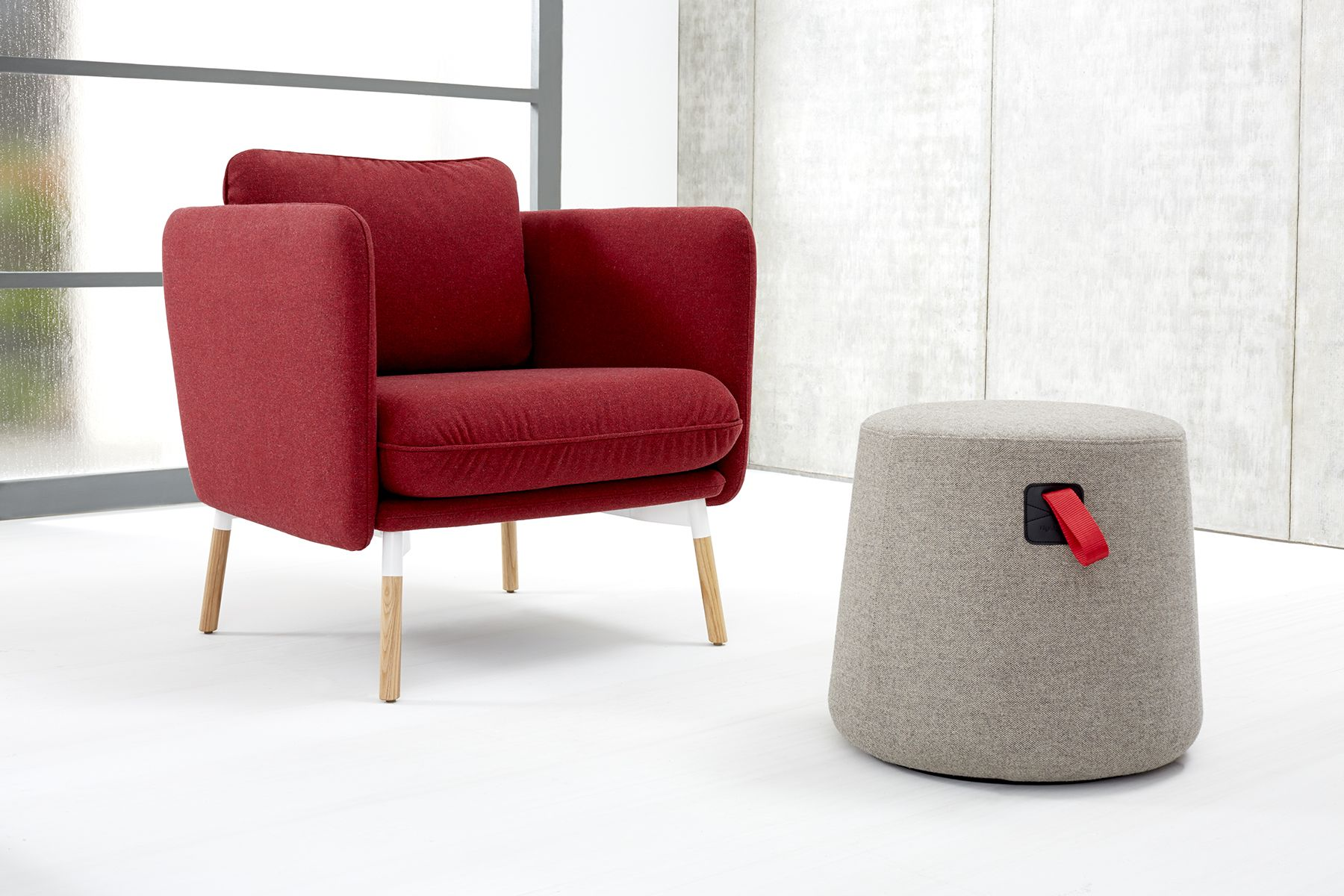 Low Comfy Chairs Make A Statement With The Striking And Comfortable Arlo