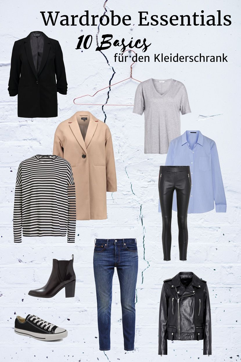 Wardrobe Essentials Diese 10 Basics Gehoren In Den Kleiderschrank
