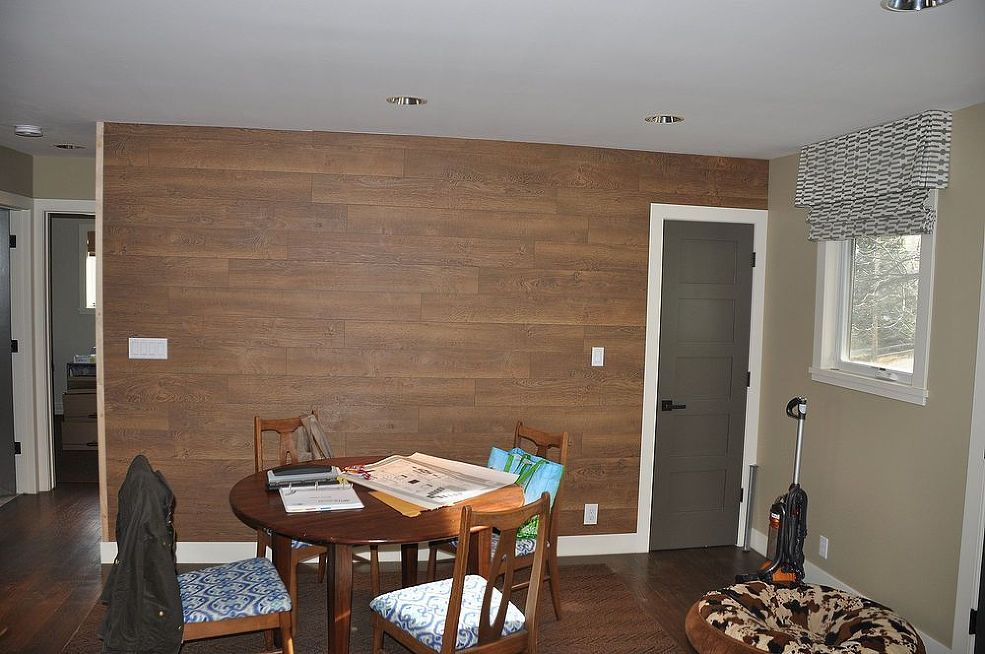 Laminate Flooring Wall. :: Hometalk