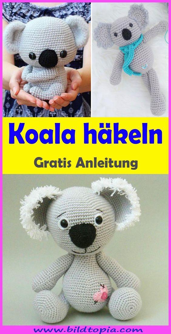 Photo of Häkeln Sie Amigurumi Koala – Free & Easy Anl – Kinderkuchen Diy Karton