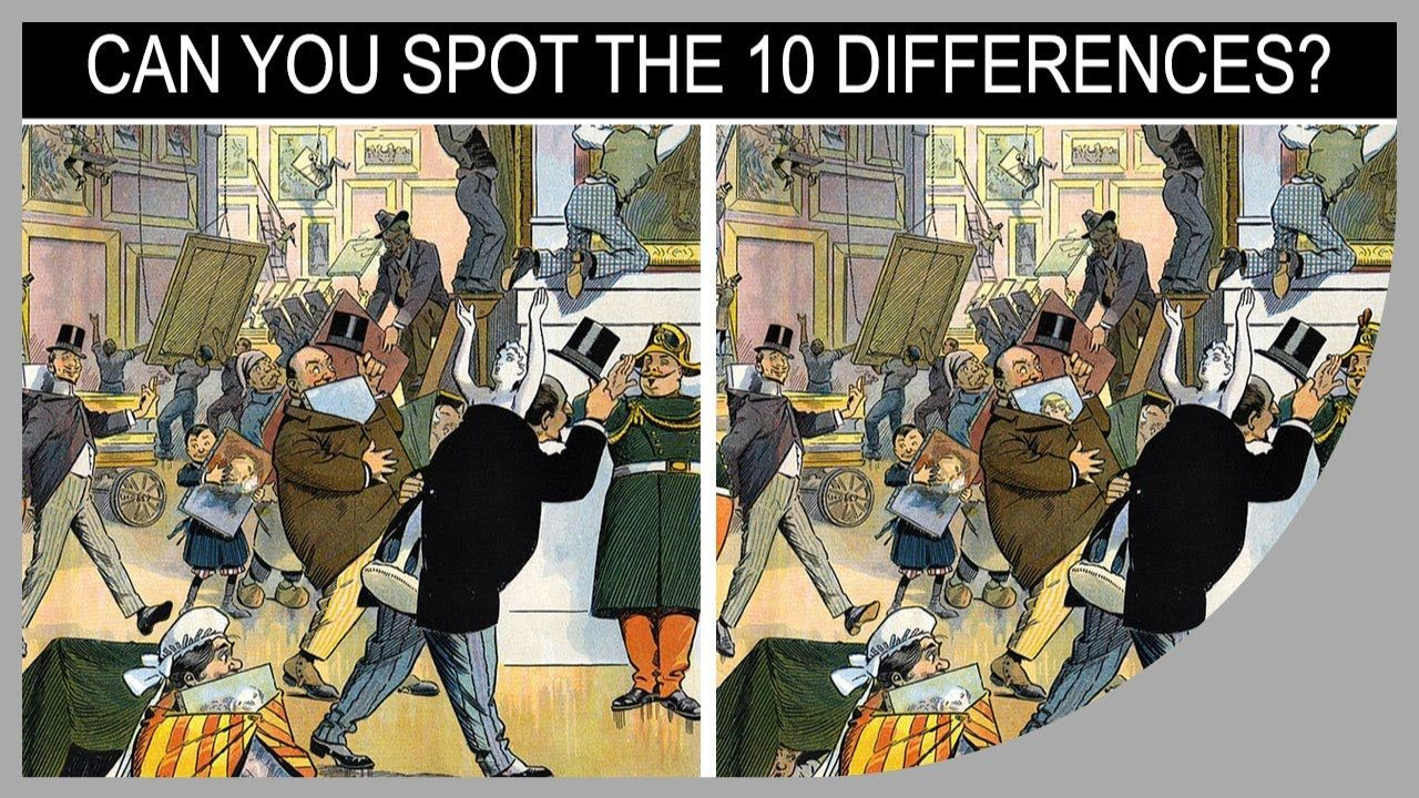 Q★ Can You Find All 10 Differences? QStar Quiz