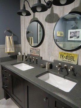 Trenton Master Bath Remodel Industrial Bathroom Portland - Bathroom remodel portland maine