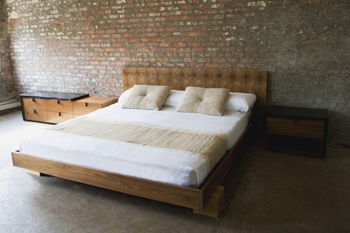 Naoki Bedroom Set Reclaimed Wood Headboard King Reclaimed Wood