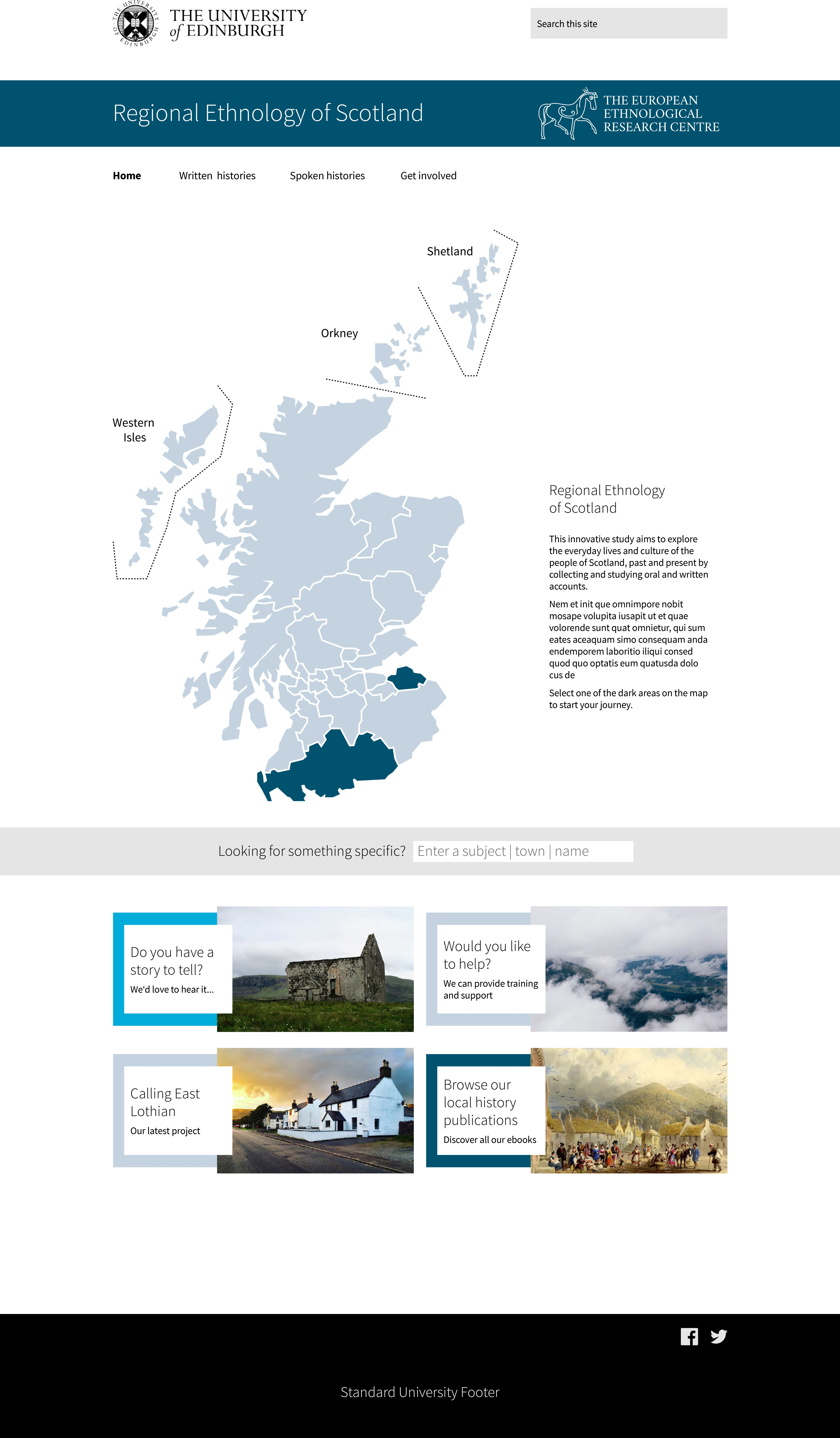 Interactive Mapping And Excellent Refine And Filter Interactive Map Scotland