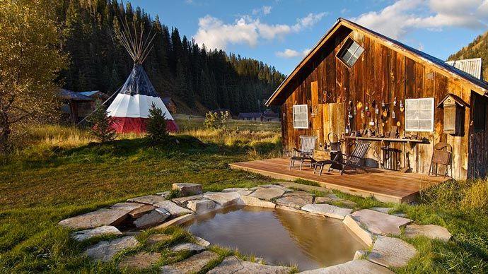 Dunton Hot Springs Resort, Colorado. Stunning Accommodation. Read more at jebiga.com #resort #DuntonHotSprings #hotel #travel